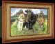 Объемный постер Три Богатыря
